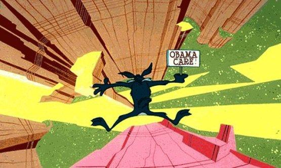 Obamacare and the Crashing Economy
