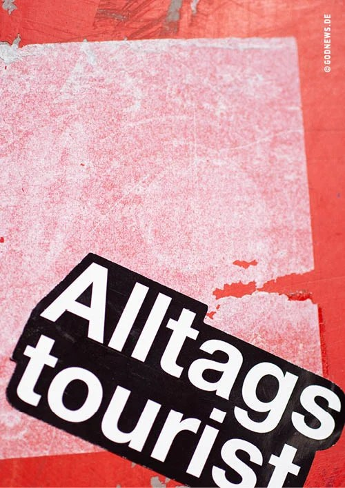 Alltagstourist, Goodies, Eva Jung, Zitat, Sticker