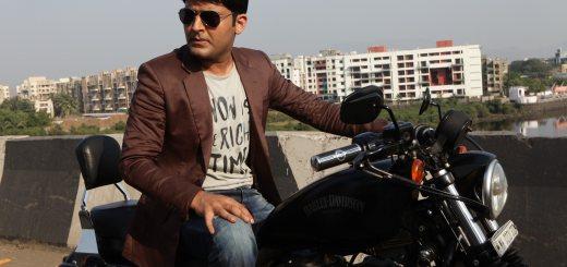 Kapil Sharma with His New Bike