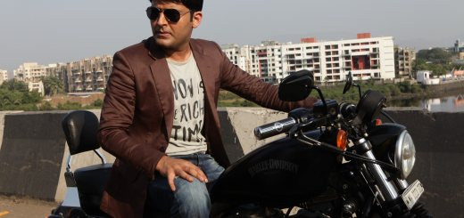 Kapil Sharma with His New Bike