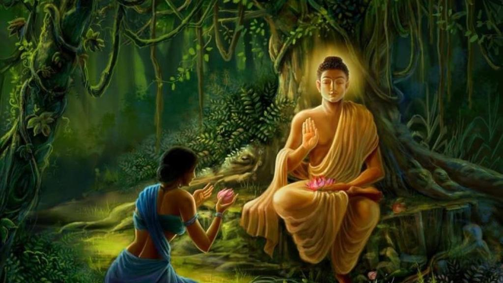 Mahatma Buddha Image