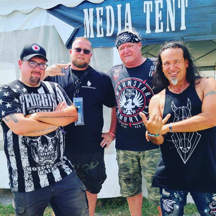 Ken McClary with 90LB Wrench at Rocklahoma