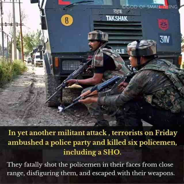 They Came and striked Indian Policemen in Indian territories andhellip