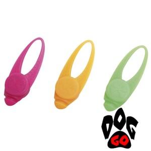 Светящийся брелок для собак CROCI TWINKLE, силикон, 8,5x2x1,6см