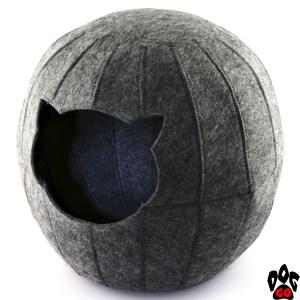 Домик для кошки Digitalwool Шар без подушки 25x37x35
