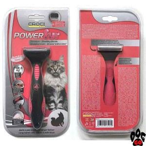 """Фурминатор для длинношёрстных кошек CROCI """"POWERfur"""", S (3-4.5 кг) 4.5 см"""