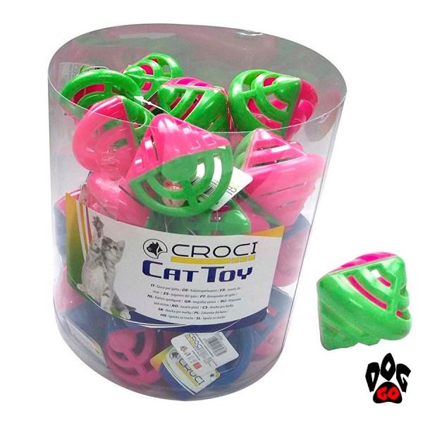CROCI Игрушка для котов Абстракция, пластик 6,2x6,2 см