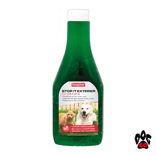 Средство для отпугивания собак и котов BEAPHAR Stop It Exterier Crystals, 480 г