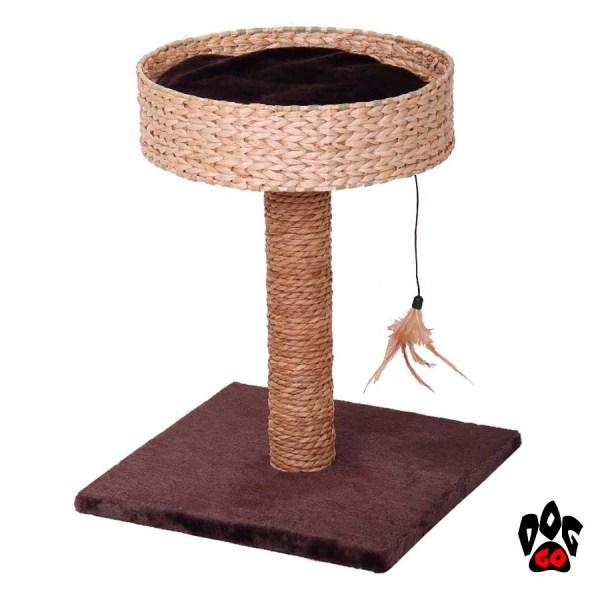 Когтеточка для кошек CROCI Lilium, 40x40x52 см