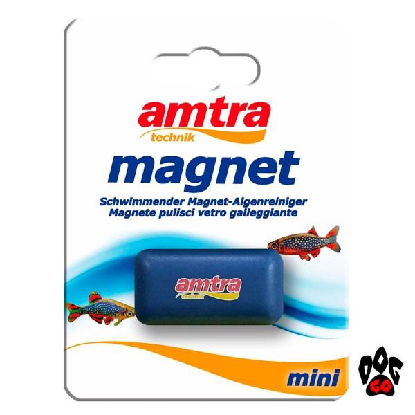 Скребок для аквариума AMTRA магнитный мини, 40x25x20мм-2