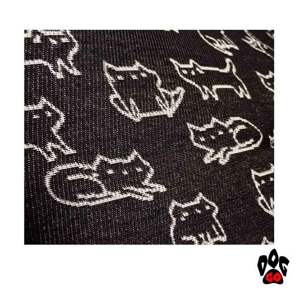 Домик для кошки CROCI NELSON, куб, черный, 40х40см-2