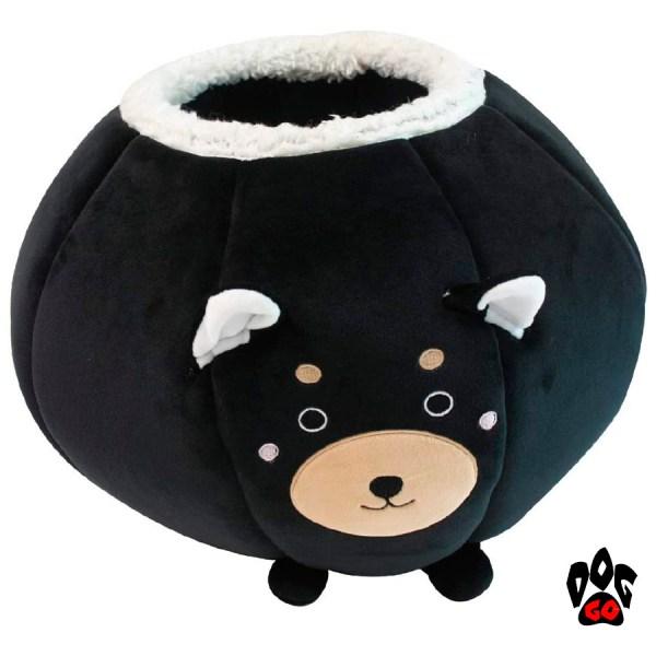 Зимний домик для кошки CROCI Fluffy Round, 50х50см-1