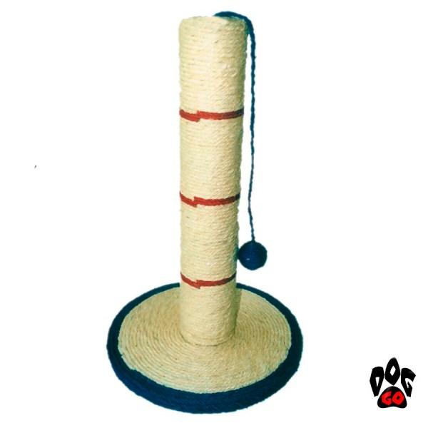CROCI Когтеточка столбик с игрушкой SISAL CON BASE, 30х52см-1