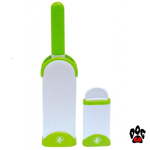 Щетка для чистки от шерсти животных CROCI (набор) 7х4х33см и 6х14х6см-1