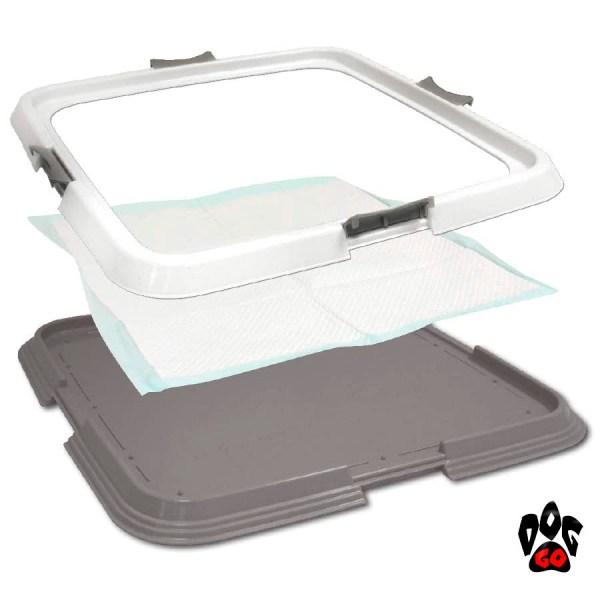 Туалет для собак под пеленку CROCI, 60х60см-2