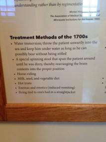 Treatment methods of the 1700s