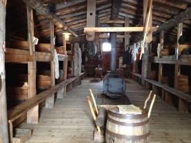Sleeping cabin for 70 men.