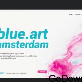 Design & Art – Landing Page