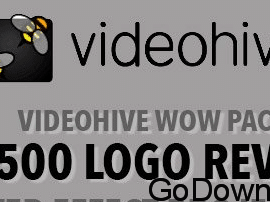 Videohive Wow Pack – 1 – 500 Logo Reveal After Effect Project Files