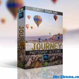 JOURNEY – PHOTOSHOP ACTIONS COLLECTION Free Download