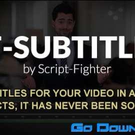 Videohive SF – SUBTITLES v2.4.3