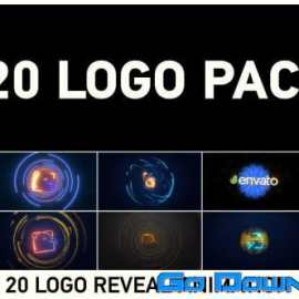 Videohive 20 Logo Pack 16724199 Free Download