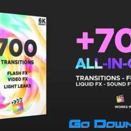 Videohive FCPX Transitions 25023232