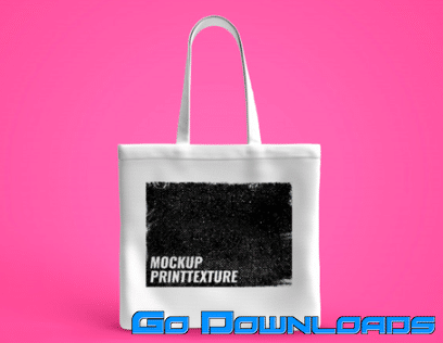 Get this tote bag mock up free photoshop template which we are publishing as. White Tote Bag Mockup Screen Print Texture Premium Psd Free Download Godownloads Net Official Website