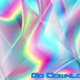 Holographic Glass Polygonal Abstract Shapes Free Download