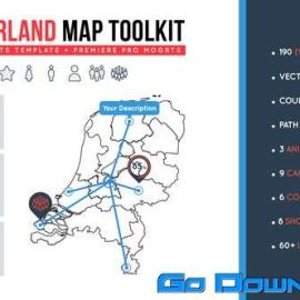 Videohive Netherland Map Toolkit Free Download