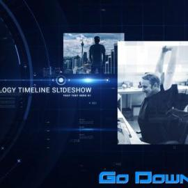 Videohive Technology Timeline Slideshow Free Download