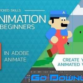 2D Animation For Beginners With Adobe Animate Free Download