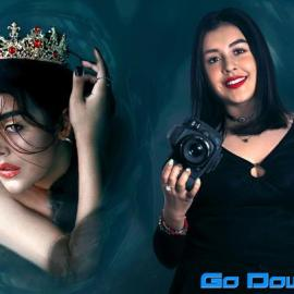 Conceptual photographic self-portrait By A Krishna VR course