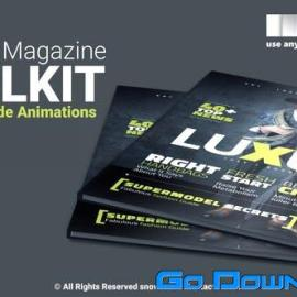 Videohive Essential Magazine Toolkit Free Download