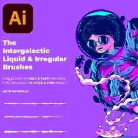 The Intergalactic Liquid & Irregular Brushes Fernando Nunes Collection Free Download