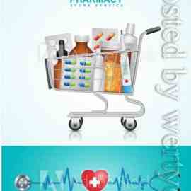 Healthcare and medical concept vector design Free Download