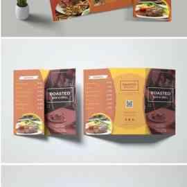 Roasted Restaurant Menu Free Download