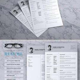 Corporate Lawyer CV Resume Free Download