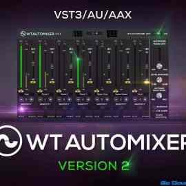 WTAUTOMIXER V2 VST Free Download [FULL+CRACK]