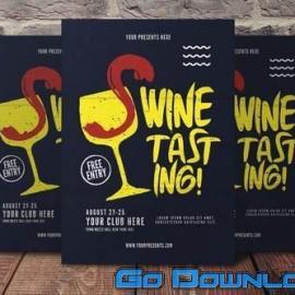 Wine Tasting Flyer Free Download
