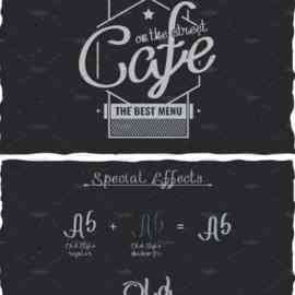 Handcrafted Old Style Label Typeface 1638320 Free Download