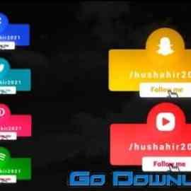 Videohive Social Media Lowerthirds 32691920 Free Download