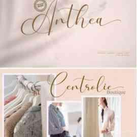 Anthea Font Free Download