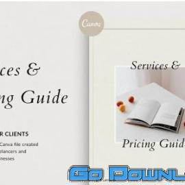 CreativeMarket Services & Pricing Guide Canva 4985290 Free Download