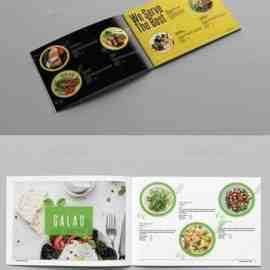 GraphicRiver Food Catalog Template Landscape 23651284 Free Download