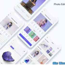 Photo Edit App UI Kit Free Download