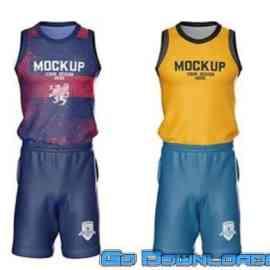 Basketball Kit Mockup MFCRJ6Q Free Download
