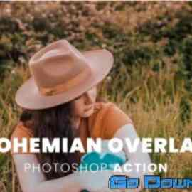 Bohemian Overlay Photoshop Action Free Download