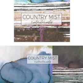 Country Mist -12 watercolor washes Free Download