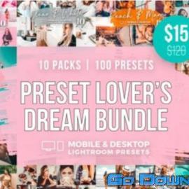 CreativeMarke Preset Lover's Dream Bundle 51 Free Download